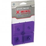 Star Wars X-Wing Purple Coloured Bases and Pegs