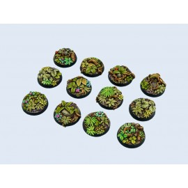 Jungle Bases, Round 25mm