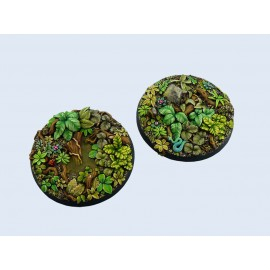 Jungle Bases, Round 60mm