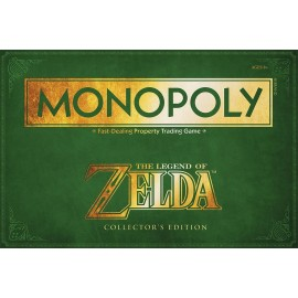 Zelda Monopoly Board Game Collectors Edition