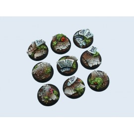 30mm Lipped Round Mystic Bases