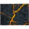 4ft x 4ft, Inferno Theme Cloth Games Mat