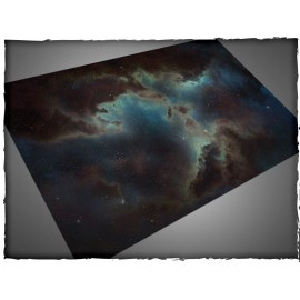 4ft X 6ft, Deep Space Theme Cloth Games Mat
