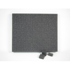 "3 Inch Battle Foam Blitz Pluck Foam Tray (Bfb) (12.5"" X 10.5"" X 3"")"