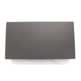 "2.5 Inch Battle Foam Medium Pluck Foam Tray (Bfs) (15.5"" X 8"" X 2.5"")"