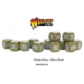 Orders Dice - Olive Drab/Concord