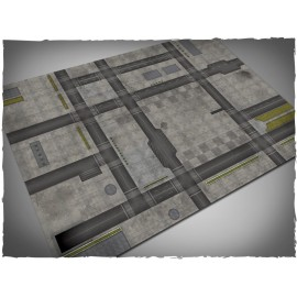 4ft x 6ft, Cityscape 1 Theme PVC Games Mat