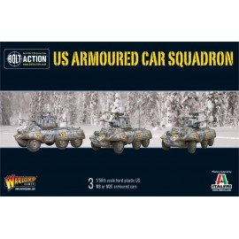 US Armoured Car Squadron M8 / M20 Greyhound Scout Cars