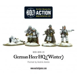 German Heer HQ - Winter