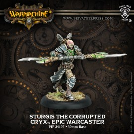 Sturgis the Corrupted Cryx Epic Warcaster
