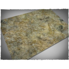 4ft x 6ft, Urban Wasteland Theme Mousepad Games Mat