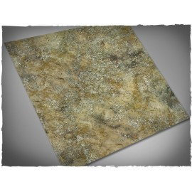 4ft x 4ft, Urban Wasteland Theme Mousepad Games Mat