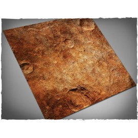 4ft x 4ft, Red Planet Theme Mousepad Games Mat