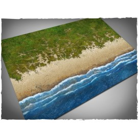 4ft x 6ft, Beach Theme Mousepad Games Mat