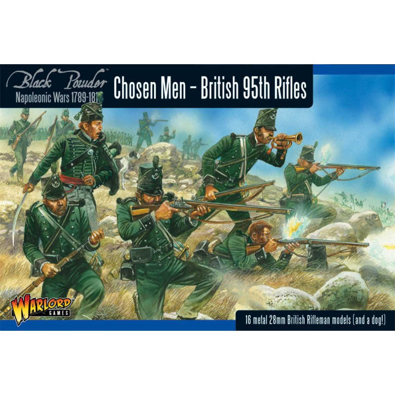 Chosen Men - British 95th Rifles - Napoleonic Wars - Black Powder
