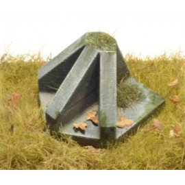 "1:35 anti tank obstacles ""P1"" (9 pcs.)"
