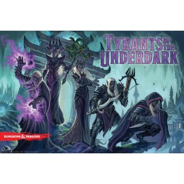 D&D Tyrants of the Underdark Board Game