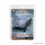 D&D Attack Wing Wave 9 - Young Black Dragon
