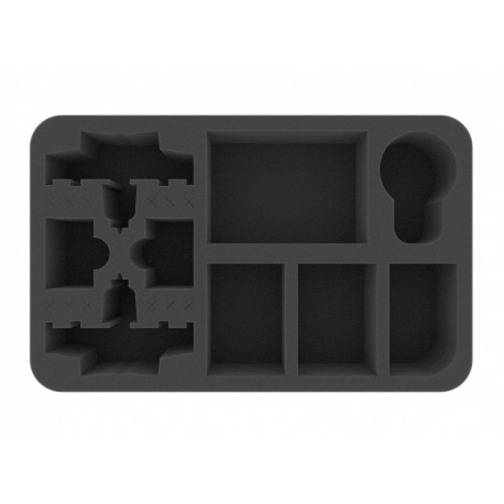 Foam tray for Star Wars X-WING 2 x K-Wing, 3 Ships, Dials, Cards and more