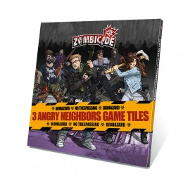 Zombicide: Tokens & Tiles - Angry Neighbors Tile Pack