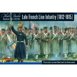 Napoleonic Late French Line Infantry 1812-1815