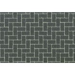 Diorama Material Sheet - Gray-Colored Brickwork A