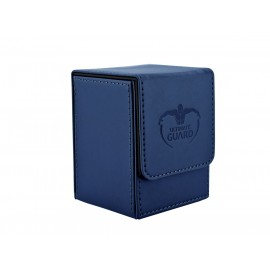 UG Flip Deck Case 100+ Standard Size Leatherette Dark Blue