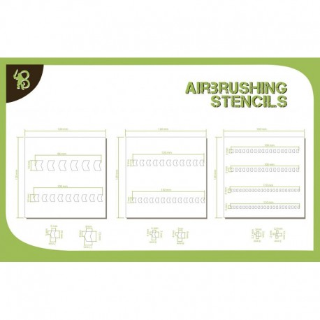 Arrows Stencils Pattern 1