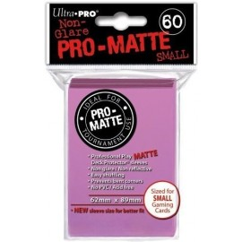 Ultra Pro - Pro Matte Small Pink DPD Deck Protector