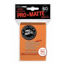 Ultra Pro - Pro Matte Small Orange DPD Deck Protector
