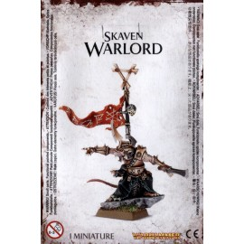 Skaven Warlord / Clawlord on Rock