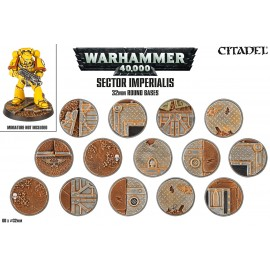 Sector Imperialis – 32mm Round Bases
