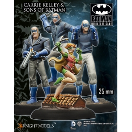 Carrie Kelley And Sons Of Batman