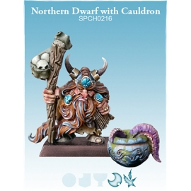 Northern Dwarf with Cauldron