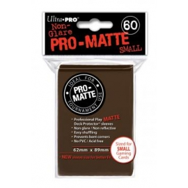 Ultra Pro - Pro Matte Small Brown DPD Deck Protector