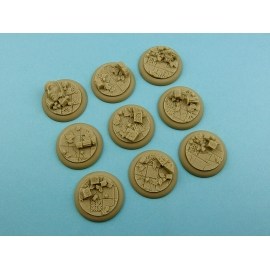 Ancient Bases, WRound 30mm