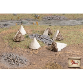 Cossack and Tartar tents