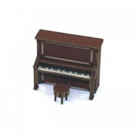Upright Piano - Medium Wood