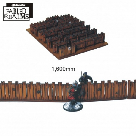 Fabled Realms Village Fencing