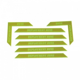Deployment Zone Markers Set – Red