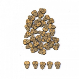 Skull Wound Marker Set