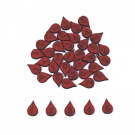 Blood Drop Wound Marker Set