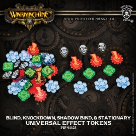 Universal Effect Tokens - Blind - Knockdown - Shadow Bind - Stationary