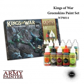 Warpaints: Kings of War Greenskins paint set