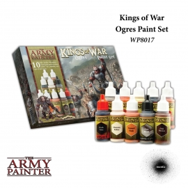 Warpaints: Kings of War Ogres paint set