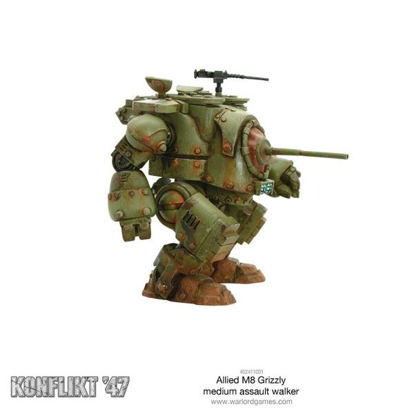d88d357bee9 Grizzly Medium Walker - Konflikt  47 - Wargames - Wayland Games