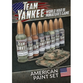 Team Yankee American Paint Set