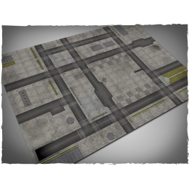 4ft x 6ft, Cityscape 1 Theme Mousepad Game Mat