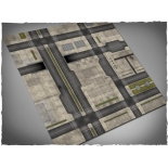 4ft x 4ft, Cityscape 2 Theme Cloth Game Mat