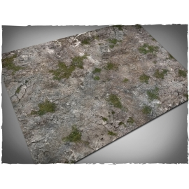 4ft x 6ft, Medieval Ruins Theme Cloth Game Mat